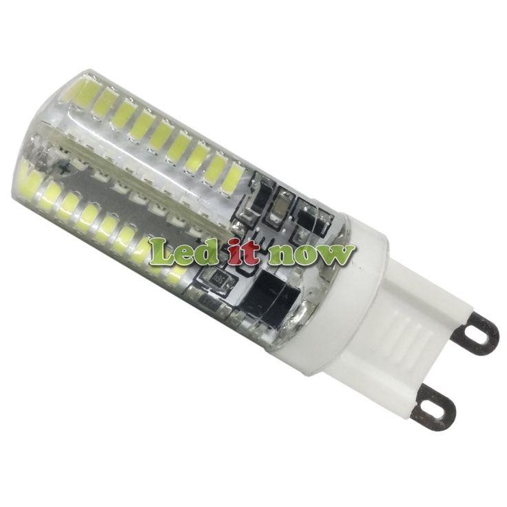LED Λάμπα G9 4 Watt Ψυχρό Λευκό Dimmable