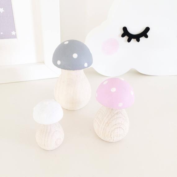 Fairy Toadstools Nursery Decor