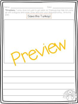 Thanksgiving Writing and Craft