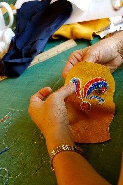 Moccasin-Making & Bead Embroidery in the Aniishiinaabe-Style : : North House Folk School (MN)