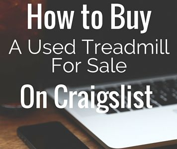 "How to Buy a used Treadmill for sale on Craigslist - Treadmills are notorious for ending up unused, forgotten about, in the basement and in the way. Hundreds of people purchase these machines every year with the intent to use it regularly to loose weight or stay in shape – but, we all know how quickly that motivation can die off. We complied the a ""HOW TO"" guide to grab a really good used treadmill for sale on Craigslist"