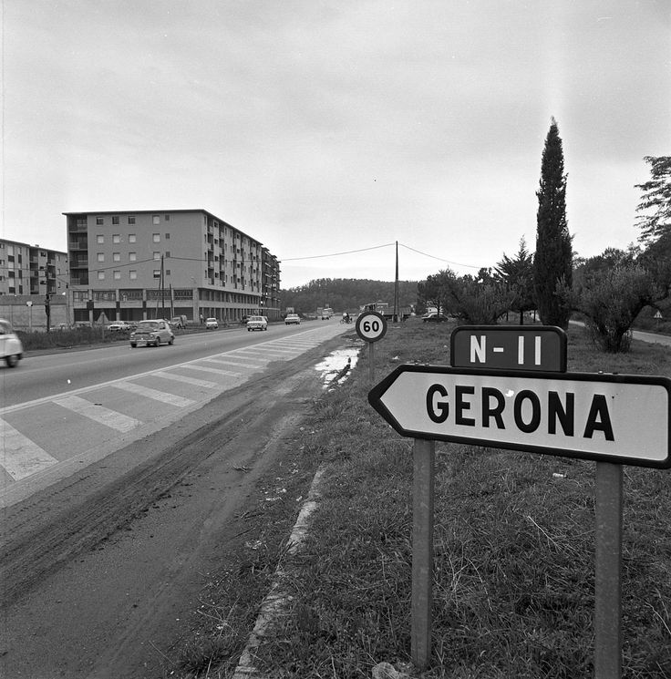 1974 Girona Obres D'urbanització De Les Voreres Laterals