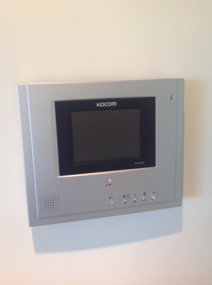 Security system and intercom
