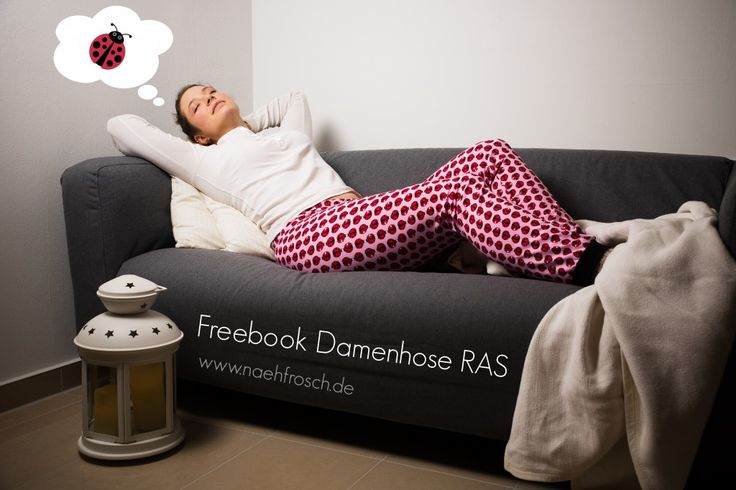 Freebook Damenhose RAS - www.naehfrosch.de