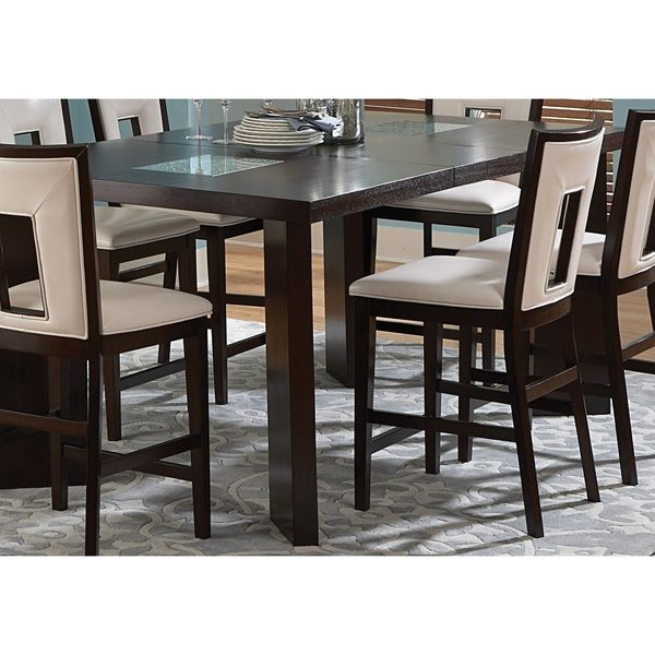 Greyson Living Domino Counter-height Espresso Dining Table