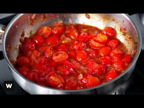 Learn how to make cherry tomato relish - a great accompaniment for meat dishes. www.woolworths.co.za/thepantry
