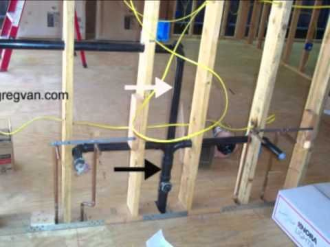 How Does Your Bathroom Sink Drain And Vent Pipes Work    http. 78 Best images about Basement bathroom install on Pinterest