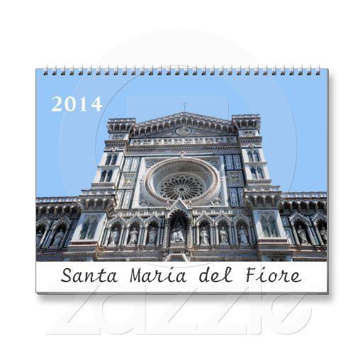Santa Maria del Fiore 2014 calendar