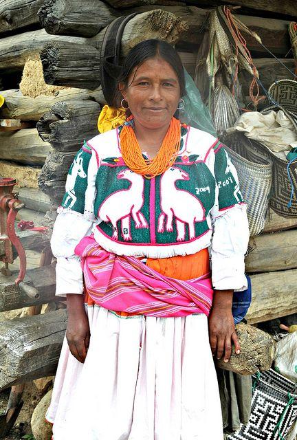 Mixtec Woman Oaxaca MEXICO. (by Ilhuicamina, via Flickr)