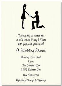 8 best Wedding shower invitations wording images on Pinterest