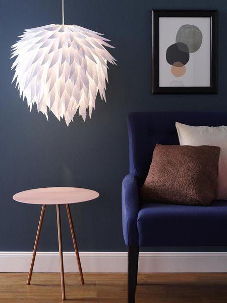 lampe selbst basteln led lichterblume als indirekte beleutung selbst basteln lampe aus gl. Black Bedroom Furniture Sets. Home Design Ideas