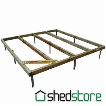 Shed-Plus Wooden Shed Base Kit Base Kit