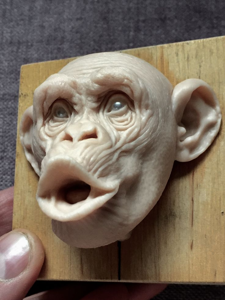 Monkey/super sculpy/ 2,5 inches