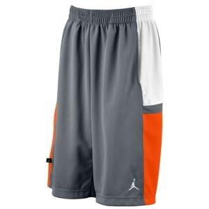 Jordan Bankroll Short (Cool Grey/Team Orange/White). Short MenBasketball Netball