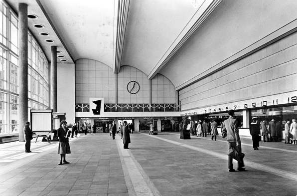 The old Rotterdam Central Station