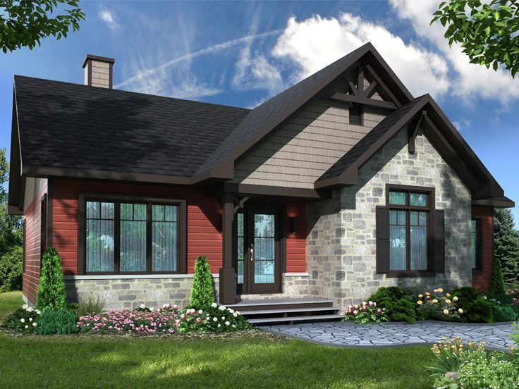 027H 0472: Small Ranch House Plan