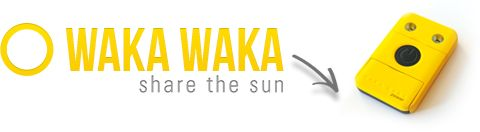 WakaWaka- a solar light and charger $79.00 and with a social conscious!!