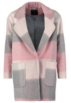 Płaszcz wełniany /Płaszcz klasyczny - pink