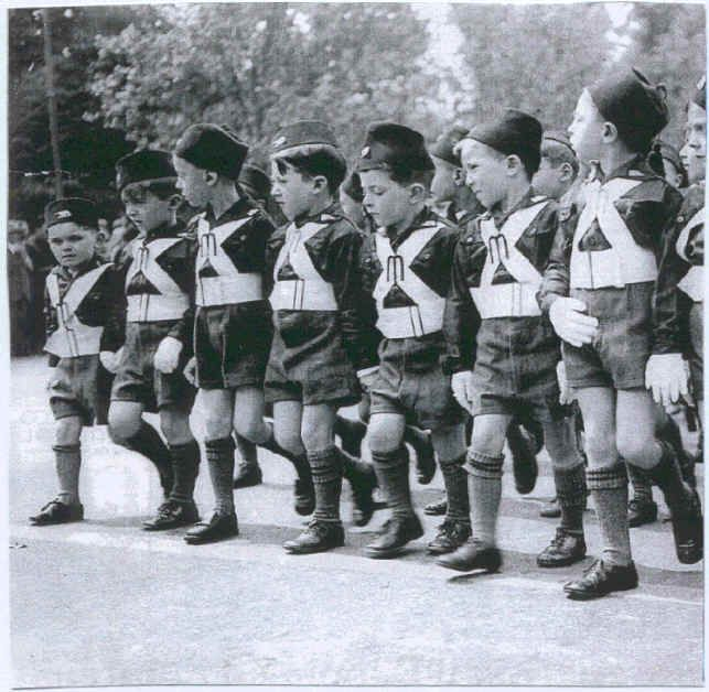 Very young Balilla boys.The Opera Nazionale Balilla was created through Mussolini's decree of April 3 1926. It included children between the ages of 8 and 18, grouped as the Balilla and the...