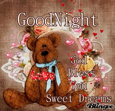 Sweet dreams ⭐️❤️