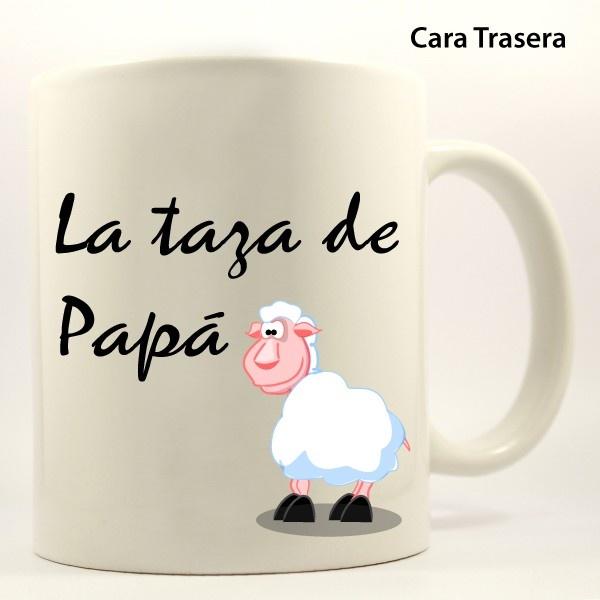Ejemplo de taza personalizada con nombre modelo ovejitas for Modelos de tazas