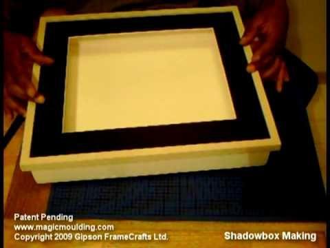 how to make a shadow box: Diy Ideas, Shadowbox, Ideas Visit