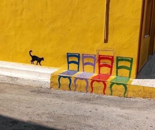 urbanfunscape: arte di strada a Linosa