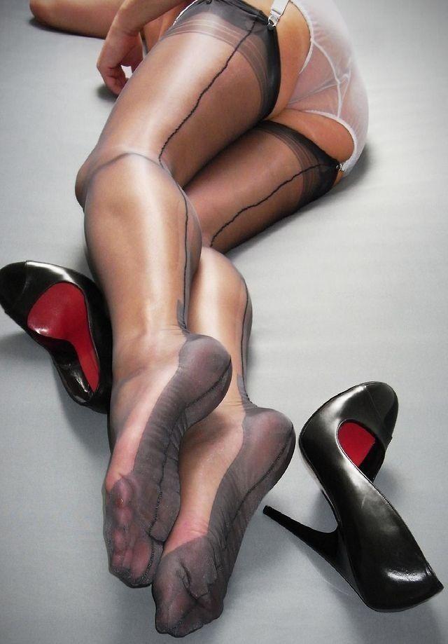 ножки видео капроновые