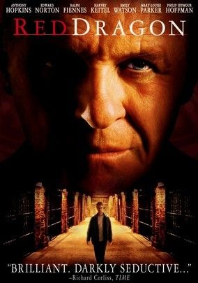 The prequel to The Silence of the Lambs stars Edward Norton as a former FBI agent, who predates agent Starling. It rivals the original in performance, as Anthony Hopkins reprises or pre-prises his role as Hannibal Lecter in an even darker film of the series.