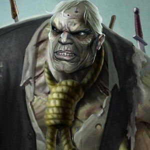 Arrow Mid-Season Finale Synopsis Teases Solomon Grundy -- Guest star Graham Shiels plays Cyrus Gold, Grundy's name before he dies and becomes a zombie. 'Three Ghosts' airs Wednesday, December 11th. -- http://wtch.it/ji3za