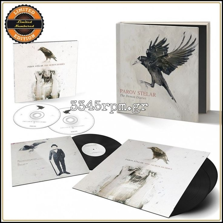 Parov Stelar - The Demon Diaries - Vinyl Deluxe Box set