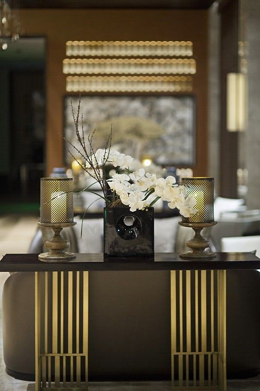 Modern Asian Interior With Natural Materials: Best 25+ Contemporary Console Tables Ideas On Pinterest