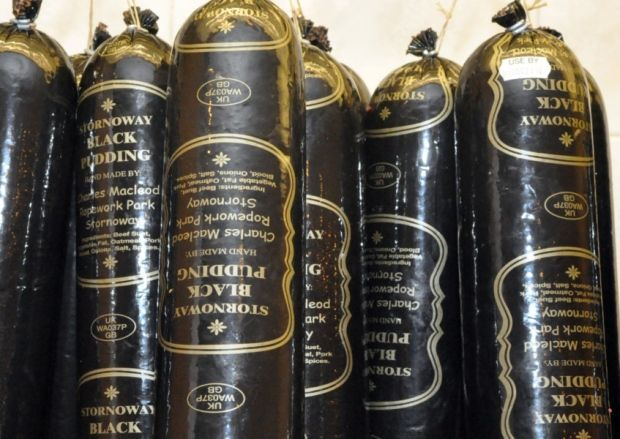 Black Pudding gains 'superfood' status.  Stornoway black pudding is the finest in the world.