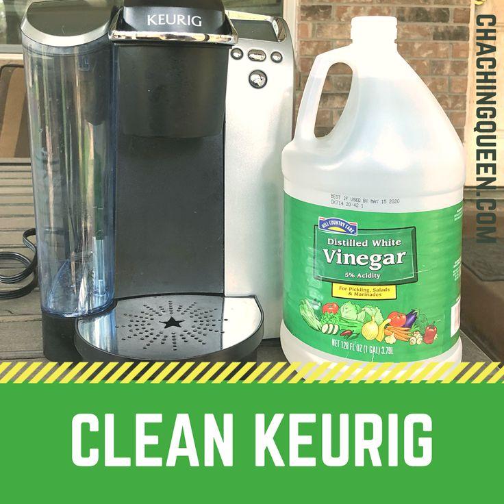 How to clean a keurig coffee maker with vinegar keurig
