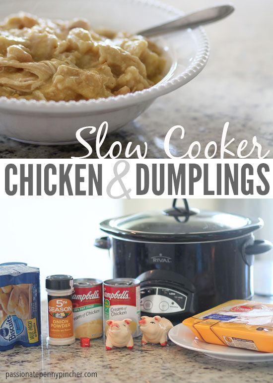 Tweet EmailSumoMe Tweet Email Looking for more penny pinched recipes? Here you go! Of all the recipes I've posted here on Passionate Penny Pincher, these Slow Cooker Chicken and Dumplings (and of course everyone's favorite Italian Beef) are consistently the ones people mention to me, and I notice folks searching for them almost daily on …