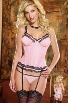 Romantic Passion Bustier With Panty by Dreamgirl