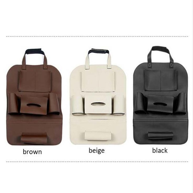 (76.99$)  Know more - http://ai14l.worlditems.win/all/product.php?id=32763902716 - DNHFC Car seat leather multi-function storage bag For BMW F10 E60 520i 525i 528i 535i 530i 2008-2015 2016