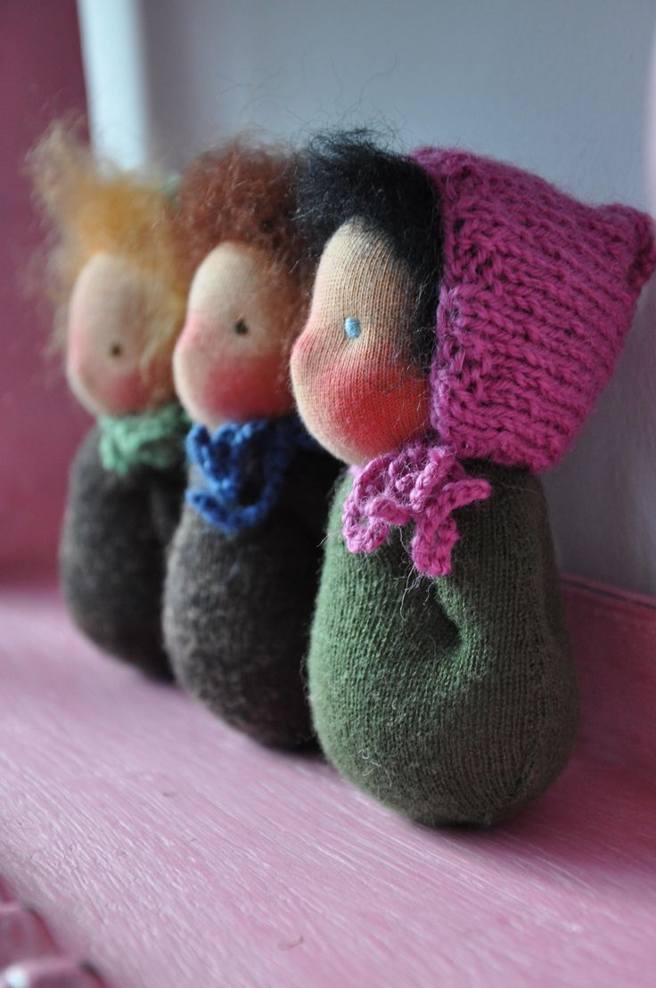 how to make waldorf dolls tutorial