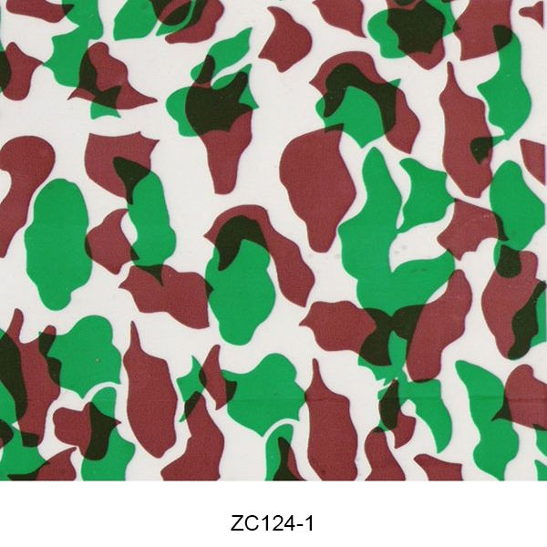 Hydro dipping film camouflage pattern ZC124-1
