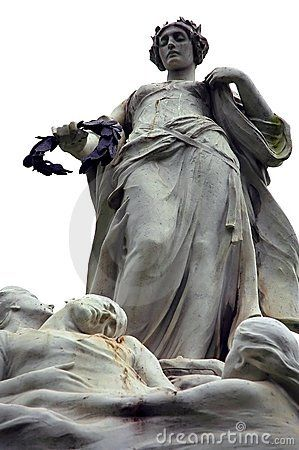 Titanic victims' memorial statue in Belfast
