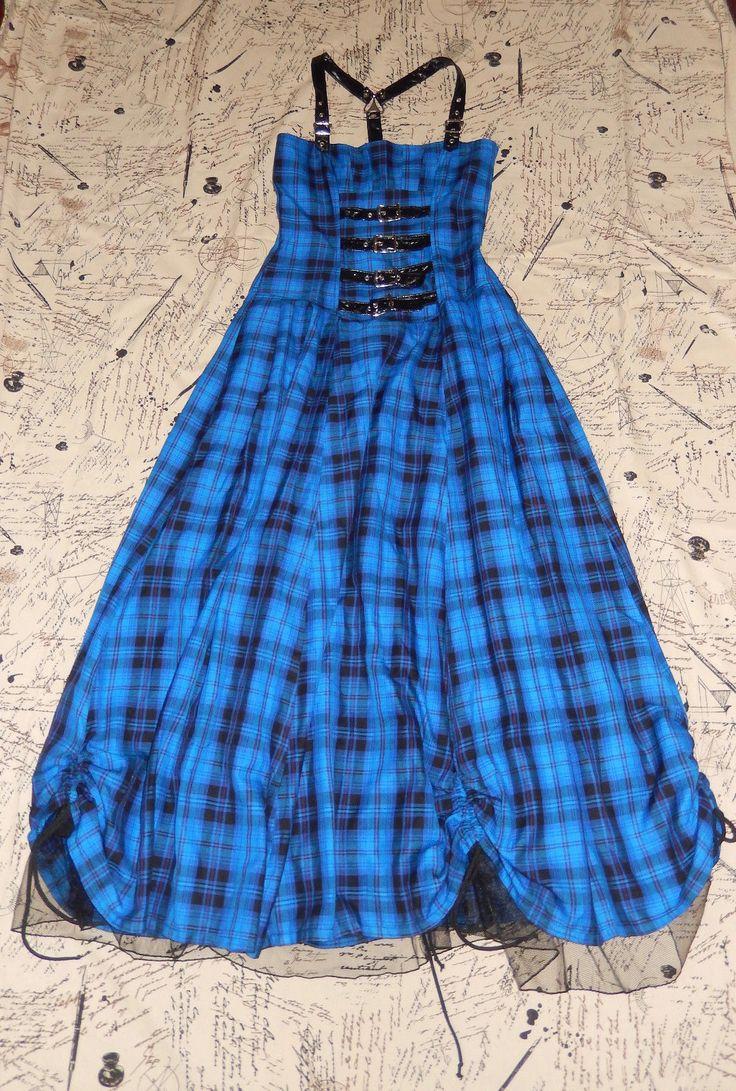"LIP SERVICE Skankin' & Spankin' ""Mistress In Distress"" long dress #46-157"