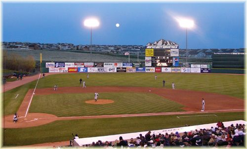 Security Service Field, home of the C-Springs Sky Sox...saw a franchise-first perfect game here.
