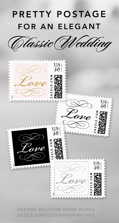 30 best Custom Wedding Invitation Postage Stamps images on Pinterest ...