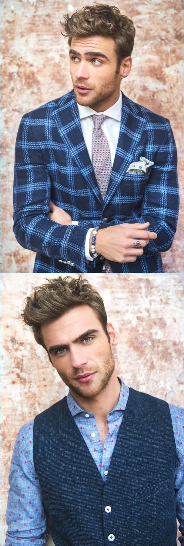 George Alsford, Men's Fashion, Style, Clothing, Male Model, Beautiful Man, Guy, Dude, Handsome, Hot, Sexy, Eye Candy, Suits, Jacket, Necktie, Pocketchief メンズファッション 男性モデル スーツ ジャケット ネクタイ ポケットチーフ
