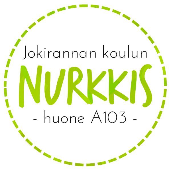 Jokirannan koulun Nurkkis - nuoppari keskellä koulua. Kuva: Minna.
