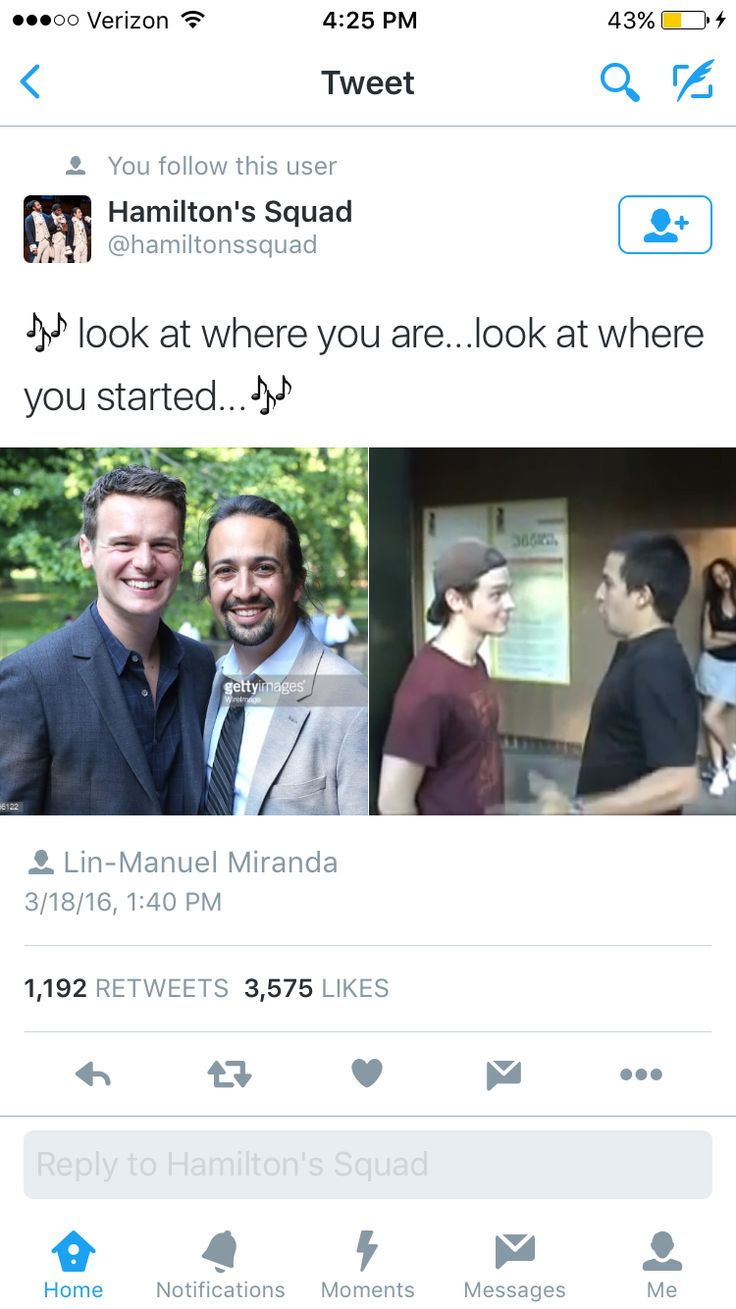 Lin-Manuel Miranda and Groffsauce makes my heart happy