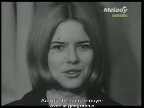 Another song from my childhood./ Une autre chose de mon enfance. Qu'est-ce qu'elle était mignonne France Gall. On voulait toutes lui ressembler!