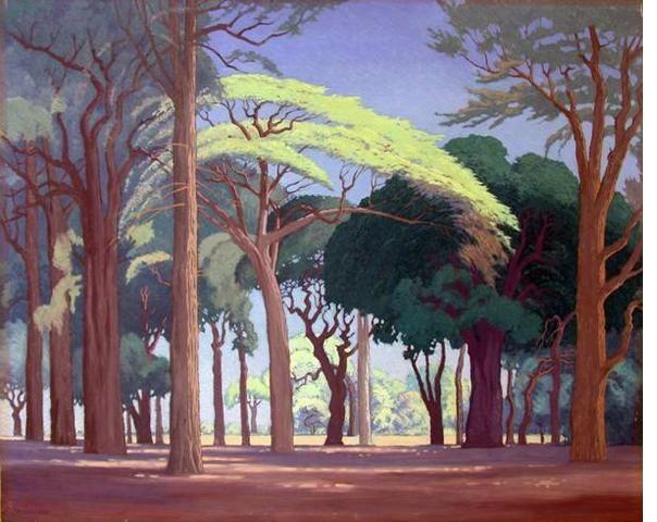 Jacob Hendrik Pierneef (1886-1957) - Bosveld