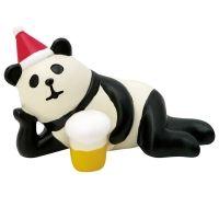 데꼴 크리스마스 마스코트 - 맥주 팬더 ※ 일본 피규어 미니어쳐 장식 소품