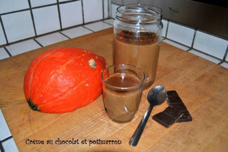 Crème au chocolat et potimarron